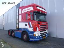 Scania - R480 EURO 6 DUTCH REGISTRATION STEERING AXLE tractor unit