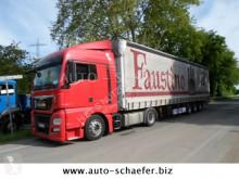 MAN TGX 18.400 LLS/ Auflieger Megatrailer/EURO 6 tractor unit