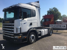 Scania 124 400 Steel/Air - - Manual - CR19 tractor unit
