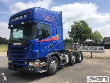 Scania 124 400 6x2/4 - Manual - Topline - Airco tractor unit