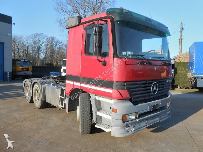 Mercedes 3348 S Manual Heavy Duty tractor unit