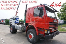 tracteur Scania 113M-360 - STEEL SPRING / SUSP LAMES - 2x GRAND PONTS / 2x BIG AXLES - HYDRAULICS
