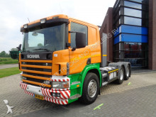 Scania 124G420 / Manual / Full Steel-Lames / NL super tractor unit