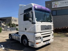 MAN low bed tractor unit