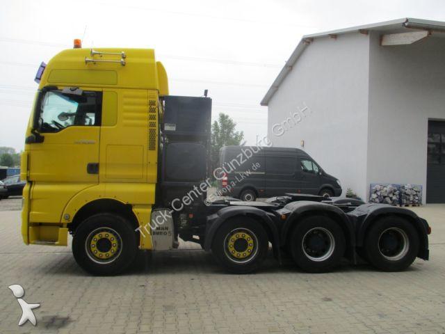 MAN TGX 33.540 8x4 Schwerlast 160 To Zuggewicht tractor unit