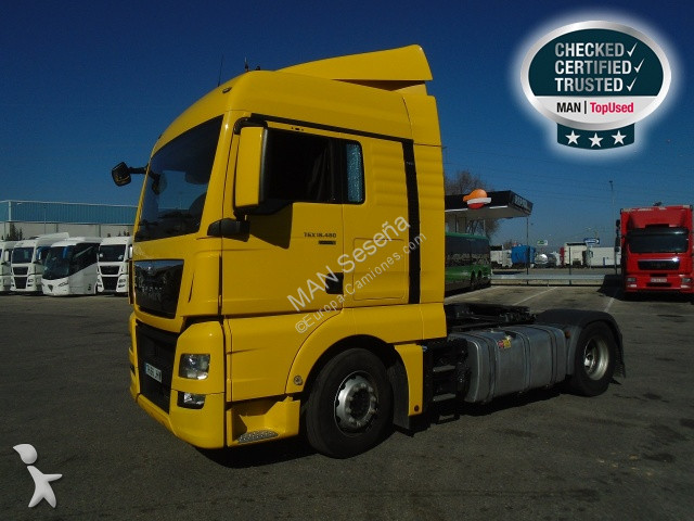 MAN 18.480 4X2 BLS tractor unit