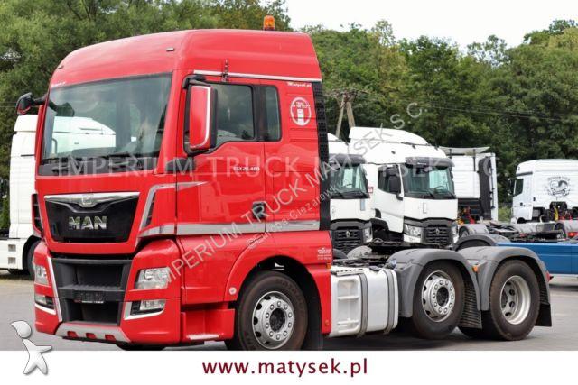 MAN TGX 26.480 / 6X2 / PUSHER / MANUAL / EURO 6 / tractor unit