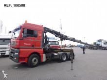 MAN TGA26.440 MANUAL HIAB 244 HI DUO EURO 3 tractor unit