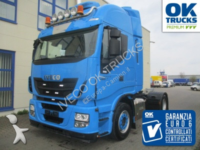 Iveco AS440S46T/P E (Euro6 Intarder Klima ZV) tractor unit