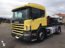 Scania L 124L tractor unit