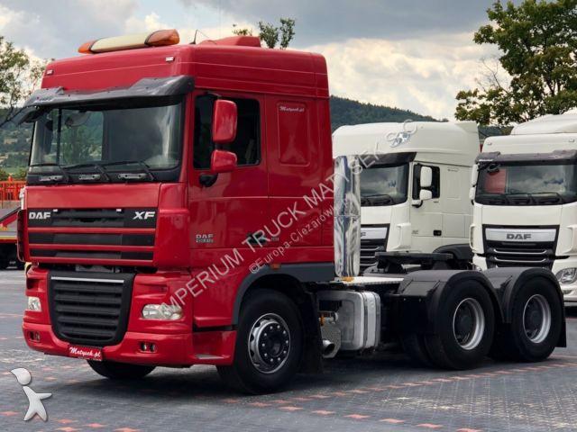 DAF XF 105.510/ 6X4/RETARDER /TIPPER HYDRAULIC /EEV tractor unit