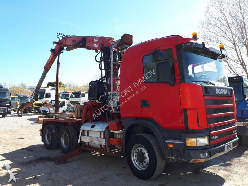 Scania 164G480 tractor unit