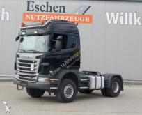 Scania G 440 / 4x4, Blatt-Luft, Zweileituns-Hydr. tractor unit