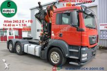 tracteur MAN TGS 26.440 6x4 Atlas 240.2E Kran 14.4m = 1.18t
