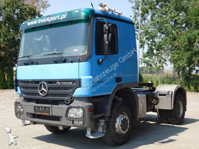 Tracteur Mercedes 2041 4x4 EURO4 SZM Mit Kipphydraulik