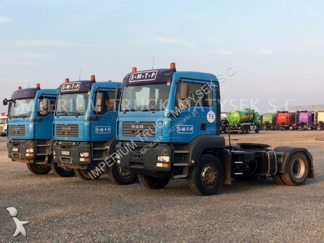 Tracteur MAN TGA 18.400/ KIPPER HYDRAULIC / DAY CAB /