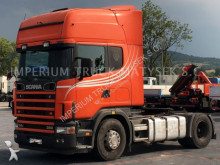 Scania 114L 380 / MANUAL / TOPLINE / EURO 3 / tractor unit