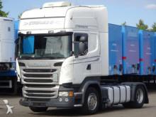 tracteur Scania R410 EURO 6 STREAMLINE TOPLINE UNFALL FAHRBEREIT