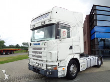 Scania 124L420 Topline / Manual / / 2 Tanks tractor unit