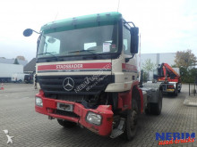 damaged tractor unit
