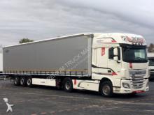 trattore DAF XF 460 / EURO 6 + KRONE CURTAINSIDER/LIFTED AXLE
