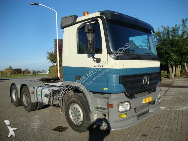 Tracteur Mercedes 3341steelsprings 4XBLAD