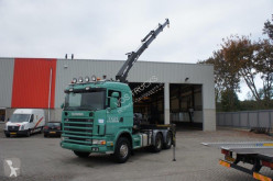 Scania 164-580 / MANUAL / / HIAB 200 C-3 CRANE / / 2003 tractor unit