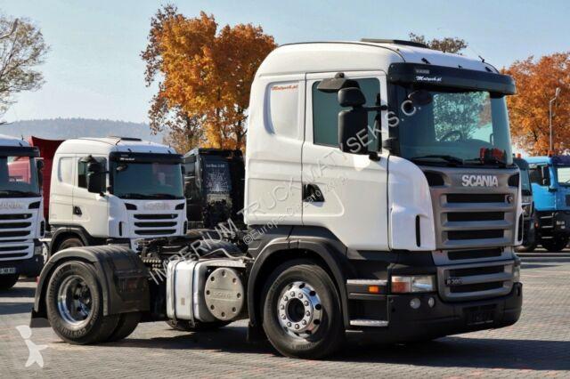 Tracteur Scania R 380/RETARDER/MANUAL/TIPPER HYDRAULIC/FULL ADR/