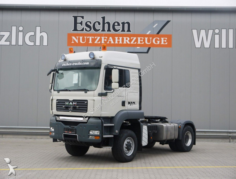 MAN 18.440 4x4, Kipphydr., Leichtmetallfelgen tractor unit