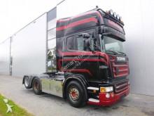 tracteur Scania R560 V8 TOPLINE DOUBLE BOOGIE RETARDER EURO