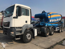 ensemble routier MAN 33-400 MET 2AS 12M3 MIXER TRAILER