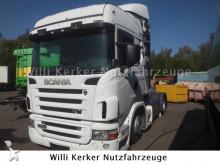 tracteur Scania R380 7499 Hubsattelplatte & AHK 20 To
