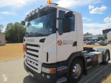 Scania hazardous materials / ADR tractor unit