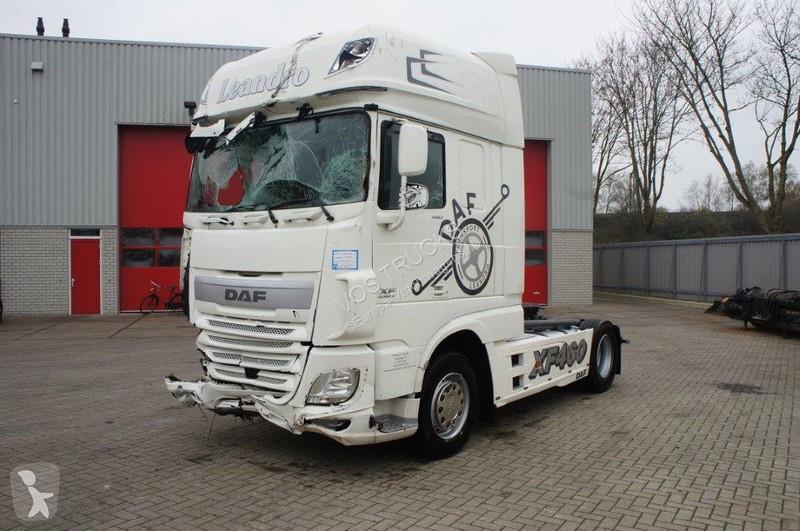 damaged daf xf 106 standard tractor unit 4x2 diesel euro 6 - n