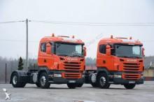 tracteur Scania R420 / Niska kabina / Manual / Hydraulika / Euro 5 / Alufelgi /