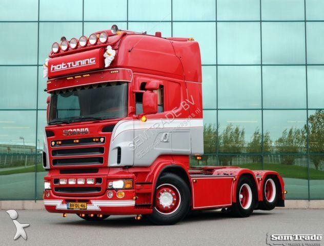 Tracteur Scania R560 HANDBAK RETARDER SPECIAL SHOWTRUCK TOP