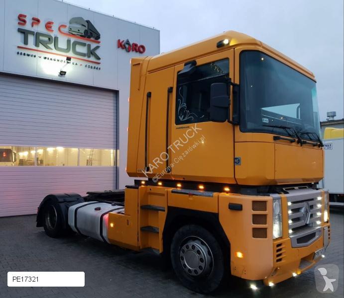 Tracteur Renault MAGNUM, Steel/Air, Manual, RETARDER, Klima