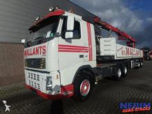 Volvo flatbed tractor-trailer