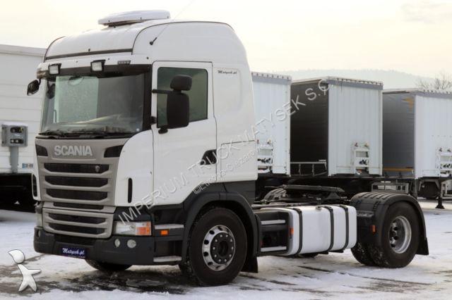 Ciągnik siodłowy Scania R 420 / RETARDER/MANUAL/TIPPER HYDRAULIC SYSTEM/