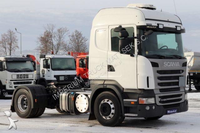 Tracteur Scania R 420 / RETARDER/MANUAL/TIPPER HYDRAULIC SYSTEM/