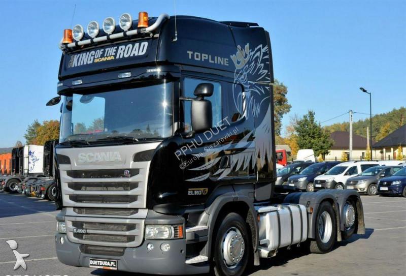 Tracteur Scania 490 EUO 6 Topline / 6x2 / Dop. Masa 66.T /