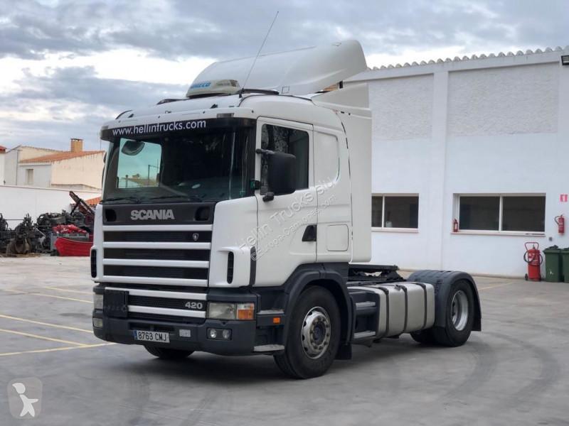 Tracteur Scania 124 420