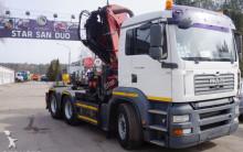 MAN TGA 26.390 6x4 HMF 4220 K4+2 HDS Żuraw CIĄGNIK SIODŁOWY tractor unit