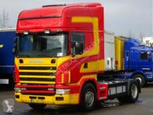 Scania 124L 420 MANUAL RETARDER TOPLINE tractor unit