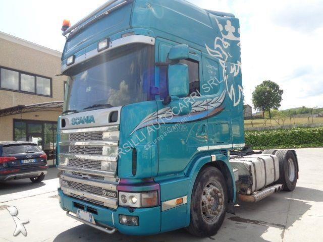 Voir les photos Tracteur Scania R164L580