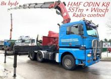 MAN TG 510 A 6x4 HMF ODIN K8 (55Tm) WCIĄGARKA żuraw HDS bardzo MOCNY tractor unit