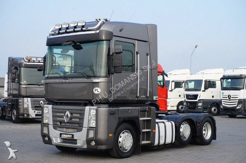 Ciągnik siodłowy Renault MAGNUM / 480 DXI / EURO 5 / 6 X 2 / PUSHER