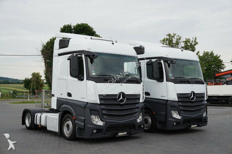 Ciągnik siodłowy nc MERCEDES-BENZ - ACTROS / 1845 / MP 4 / EURO 6 / STREAM SPACE