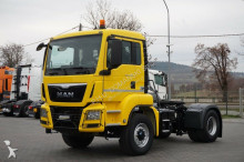 MAN TGS / 18.400 / 4 X 4 / E 6 / MANUAL / HYDRODRIVE tractor unit