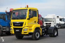 MAN TGS / 18.400 / 4 X 4 / E 6 / MANUAL / HYDRODRIVE tractor unit
